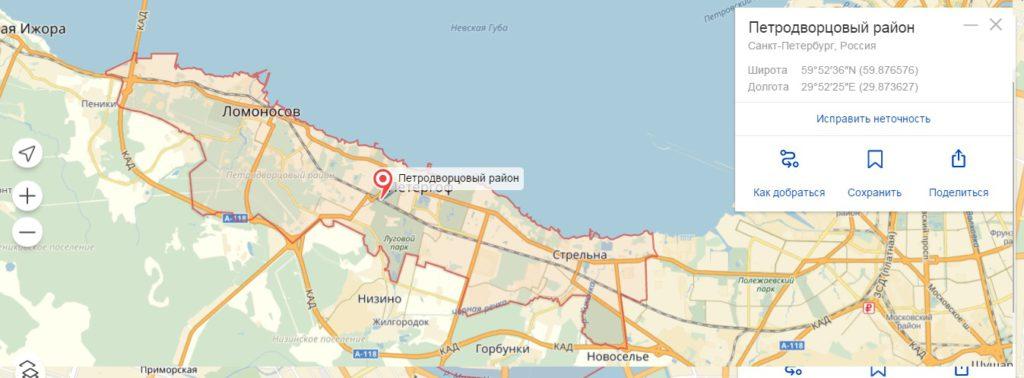 Выкуп авто Петродворцовый район